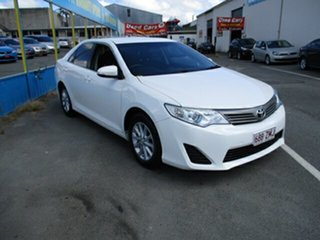 2012 Toyota Camry ALTISE White 4 Speed Automatic Sedan.