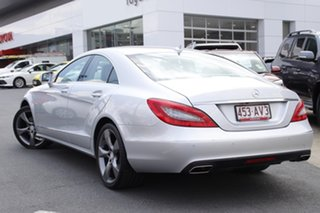 2012 Mercedes-Benz CLS-Class C218 CLS350 BlueEFFICIENCY Coupe 7G-Tronic Iridium Silver 7 Speed.