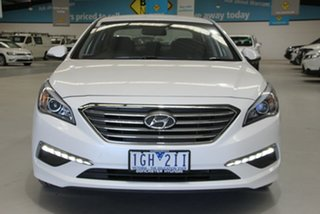 2015 Hyundai Sonata LF Active White 6 Speed Automatic Sedan