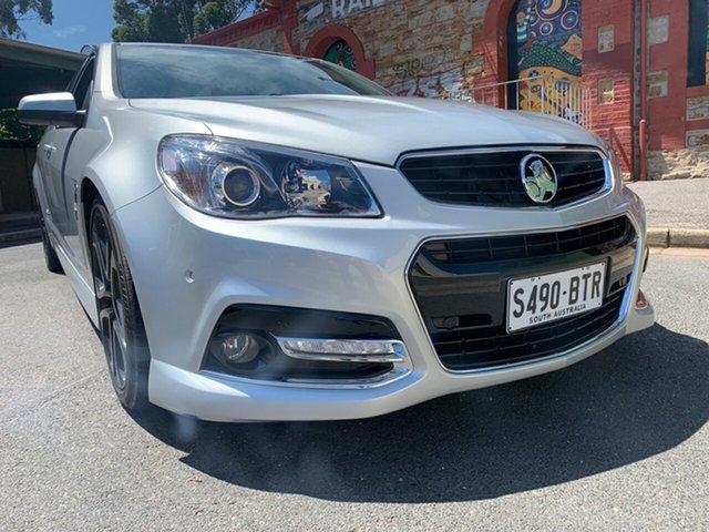 Used Holden Ute VF MY15 SS V Ute Redline Cheltenham, 2015 Holden Ute VF MY15 SS V Ute Redline Silver 6 Speed Sports Automatic Utility