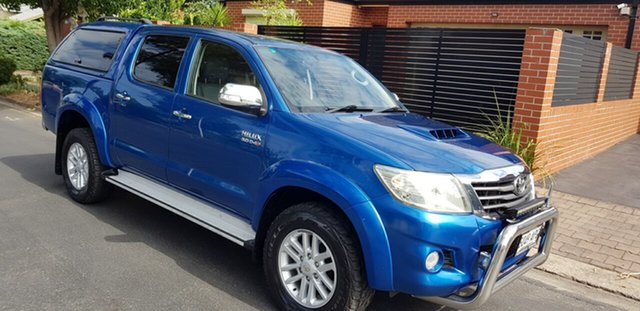 Used Toyota Hilux KUN26R MY12 SR5 (4x4) Prospect, 2012 Toyota Hilux KUN26R MY12 SR5 (4x4) Blue 4 Speed Automatic Dual Cab Pick-up