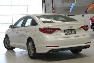 2015 Hyundai Sonata LF Active White 6 Speed Automatic Sedan.