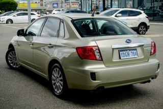 2010 Subaru Impreza G3 MY10 R AWD Gold 5 Speed Manual Sedan.