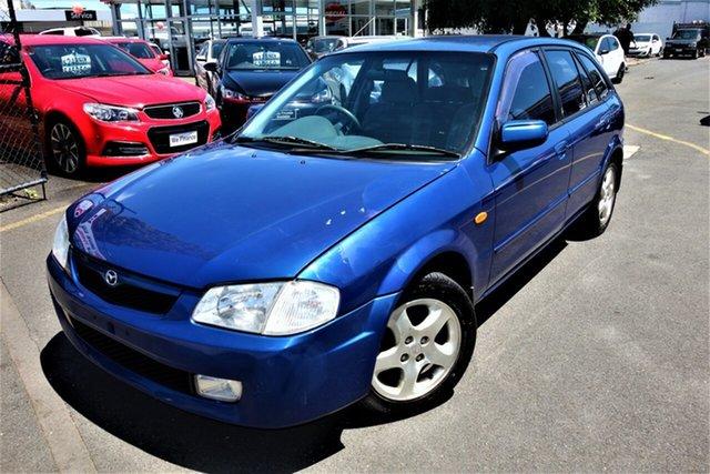 Used Mazda 323 BJ Astina Seaford, 2000 Mazda 323 BJ Astina Blue 4 Speed Automatic Hatchback
