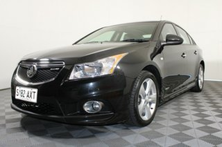 2012 Holden Cruze JH Series II MY12 SRi Black 6 Speed Manual Sedan.