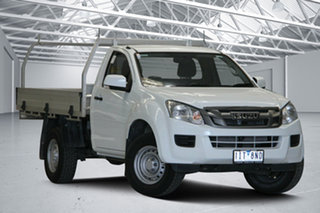 2016 Isuzu D-MAX TF MY15 SX (4x2) White 5 Speed Automatic Crew Cab Chassis.