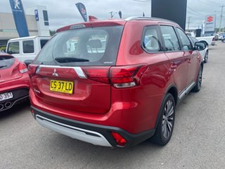 2018 Mitsubishi Outlander ZL MY18.5 ES AWD Burgundy 6 Speed Constant Variable Wagon