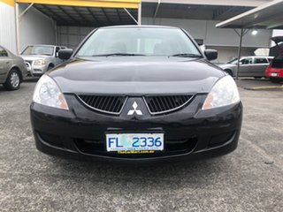 2005 Mitsubishi Lancer CH MY05 ES Black 5 Speed Manual Sedan