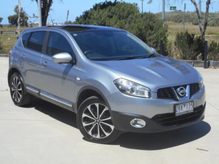 2012 Nissan Dualis J10W Series 3 MY12 Ti-L Hatch X-tronic 2WD Grey 6 Speed Constant Variable.