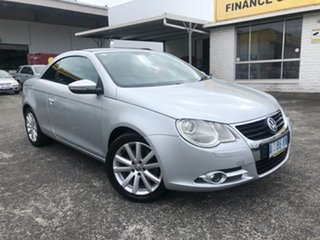 2008 Volkswagen EOS 1F MY08 FSI DSG Silver 6 Speed Sports Automatic Dual Clutch Convertible.