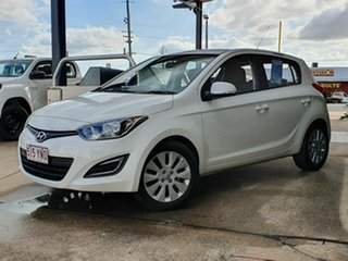2014 Hyundai i20 Active White 4 Speed Automatic Hatchback