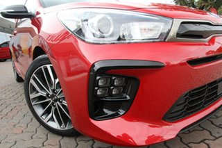 2020 Kia Rio YB MY21 GT-Line DCT Signal Red 7 Speed Automatic Hatchback.
