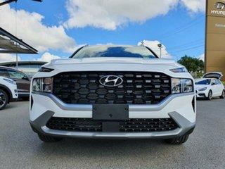 2020 Hyundai Santa Fe Tm.v3 MY21 DCT White Cream 8 Speed Sports Automatic Dual Clutch Wagon