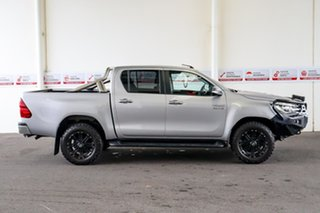 2017 Toyota Hilux GUN126R SR5 Double Cab Silver Sky 6 Speed Manual Utility
