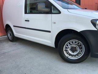 2013 Volkswagen Caddy 2KN MY13 TSI160 SWB Runner White 5 Speed Manual Van