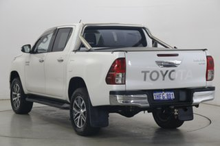2017 Toyota Hilux GUN126R SR5 Double Cab Pearl White 6 Speed Sports Automatic Utility