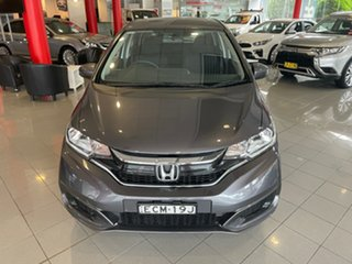2019 Honda Jazz GF MY19 VTi Grey 1 Speed Constant Variable Hatchback.