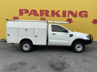 2017 Ford Ranger PX MkII 2018.00MY XL White 6 Speed Sports Automatic Cab Chassis