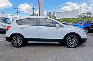 2015 Suzuki S-Cross JY GLX White 7 Speed Constant Variable Hatchback