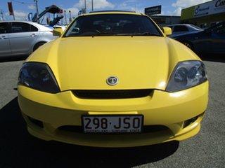 2006 Hyundai Tiburon GK MY06 V6 Yellow 6 Speed Manual Coupe