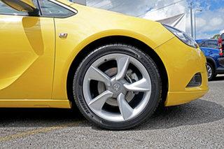 2015 Holden Astra PJ MY15.5 GTC Yellow 6 Speed Manual Hatchback