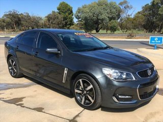 2017 Holden Commodore VF II MY17 SV6 Son of a Gun Grey 6 Speed Sports Automatic Sedan.