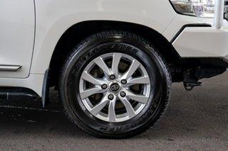 2016 Toyota Landcruiser VDJ200R Sahara Crystal Pearl 6 Speed Sports Automatic Wagon