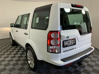 2013 Land Rover Discovery 4 Series 4 L319 MY13 TDV6 White 8 Speed Sports Automatic Wagon
