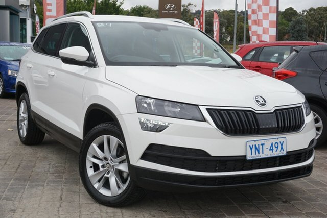 Used Skoda Karoq NU MY20.5 110TSI DSG FWD Phillip, 2020 Skoda Karoq NU MY20.5 110TSI DSG FWD Candy White 7 Speed Sports Automatic Dual Clutch Wagon