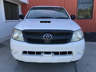 2008 Toyota Hilux KUN26R MY08 SR White 4 Speed Automatic Utility.