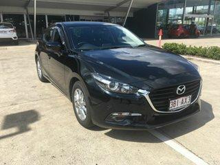 2018 Mazda 3 BN5478 Maxx SKYACTIV-Drive Sport Black 6 Speed Sports Automatic Hatchback.