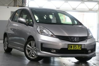 2013 Honda Jazz GE MY12 Update Vibe-S Silver 5 Speed Automatic Hatchback.