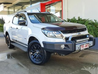 2017 Holden Colorado Z71 White 6 Speed Automatic Dual Cab.