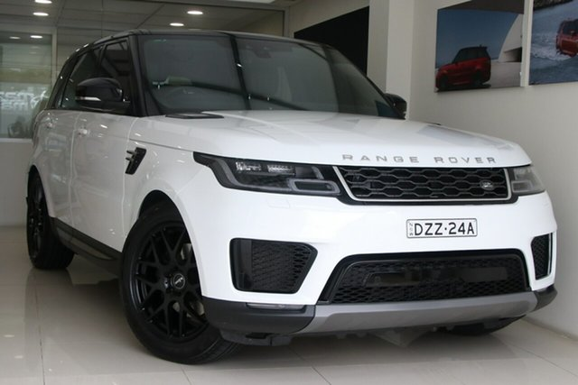 Used Land Rover Range Rover Sport L494 18MY SE Brookvale, 2018 Land Rover Range Rover Sport L494 18MY SE White 8 Speed Sports Automatic Wagon