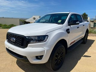 2019 Ford Ranger PX MkIII 2020.25MY FX4 White 6 Speed Manual Double Cab Pick Up