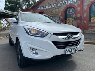 2015 Hyundai ix35 LM3 MY15 Elite AWD White 6 Speed Sports Automatic Wagon.