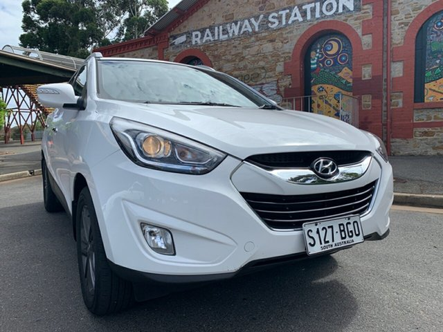 Used Hyundai ix35 LM3 MY15 Elite AWD Cheltenham, 2015 Hyundai ix35 LM3 MY15 Elite AWD White 6 Speed Sports Automatic Wagon