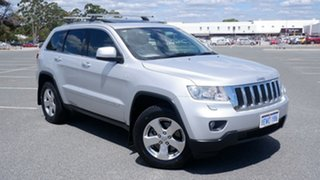 2011 Jeep Grand Cherokee WK MY2011 Laredo Silver 5 Speed Sports Automatic Wagon.