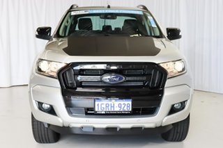 2018 Ford Ranger PX MkII 2018.00MY FX4 Double Cab Silver 6 Speed Sports Automatic Utility
