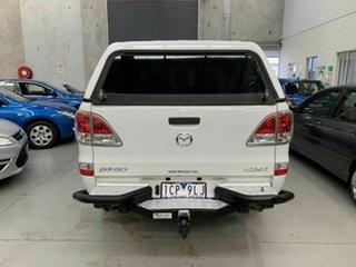 2014 Mazda BT-50 UP0YF1 XT White 6 Speed Manual Utility