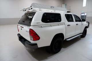 2016 Toyota Hilux GUN125R Workmate Double Cab 6 Speed Sports Automatic Utility