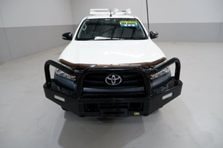 2016 Toyota Hilux GUN125R Workmate Double Cab 6 Speed Sports Automatic Utility.