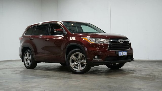 Used Toyota Kluger GSU55R GXL AWD Welshpool, 2016 Toyota Kluger GSU55R GXL AWD Red 6 Speed Sports Automatic Wagon