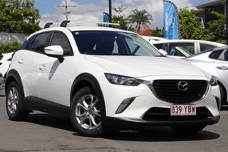 2016 Mazda CX-3 DK2W7A Maxx SKYACTIV-Drive White 6 Speed Sports Automatic Wagon