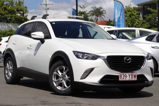 Used Mazda CX-3 DK2W7A Maxx SKYACTIV-Drive Mount Gravatt, 2016 Mazda CX-3 DK2W7A Maxx SKYACTIV-Drive White 6 Speed Sports Automatic Wagon