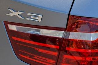 2013 BMW X3 F25 MY1112 xDrive20d Steptronic Grey 8 Speed Automatic Wagon