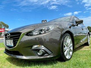 2015 Mazda 3 BM5438 SP25 SKYACTIV-Drive Titanium Flash 6 Speed Sports Automatic Hatchback.