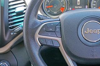 2015 Jeep Cherokee KL MY15 Sport White 9 Speed Sports Automatic Wagon