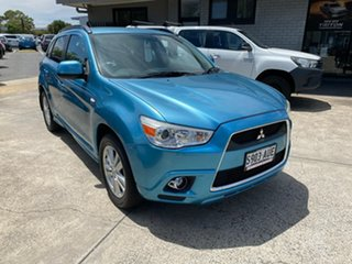 2011 Mitsubishi ASX XA MY12 Aspire Blue 6 Speed Constant Variable Wagon.
