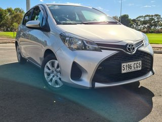 2014 Toyota Yaris NCP130R Ascent Silver 4 Speed Automatic Hatchback.